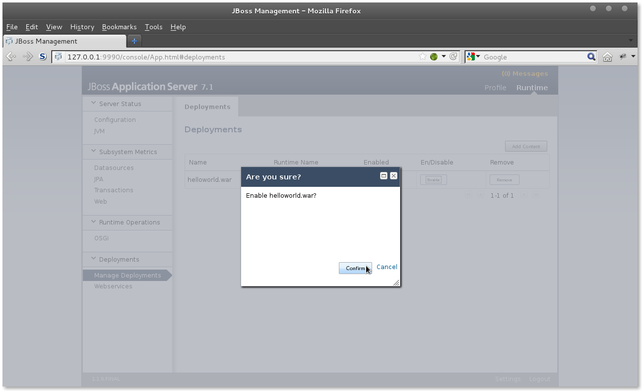 JBoss AS 7 deploy app #4